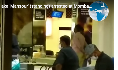 Ivory Cartel Co-Accused arrested in Mombasa