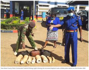 Third Kitale Ivory Arrest in Three Months