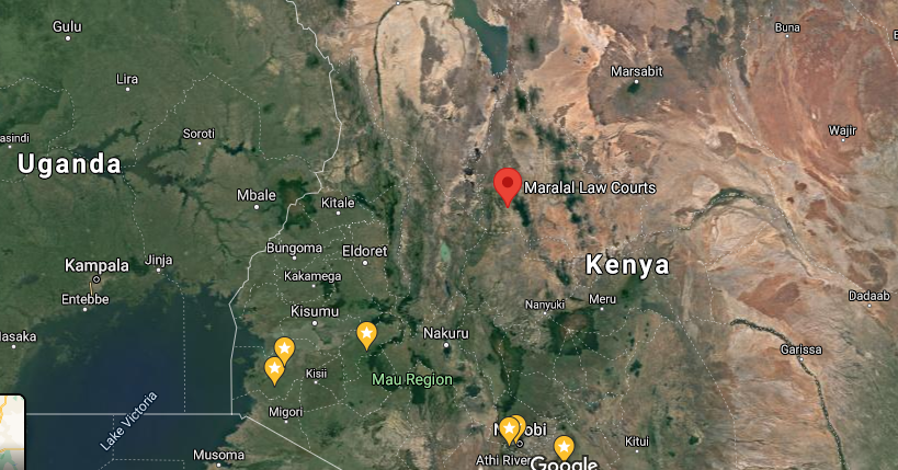 Maralal – Three Arrested by Police with Four Tusks