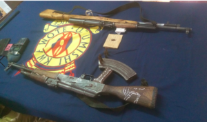 Marsabit – Police Recover Suspected Poaching Firearms