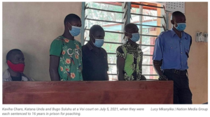 Read more about the article Ten Years in Jail for Tsavo Bush Meat Dealers